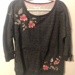 Maurices 3/4 Sleeve Sweater
